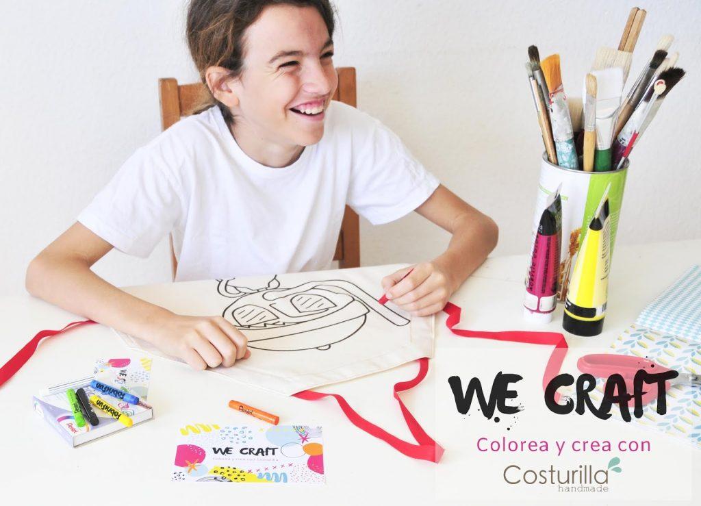 Delantal para colorear