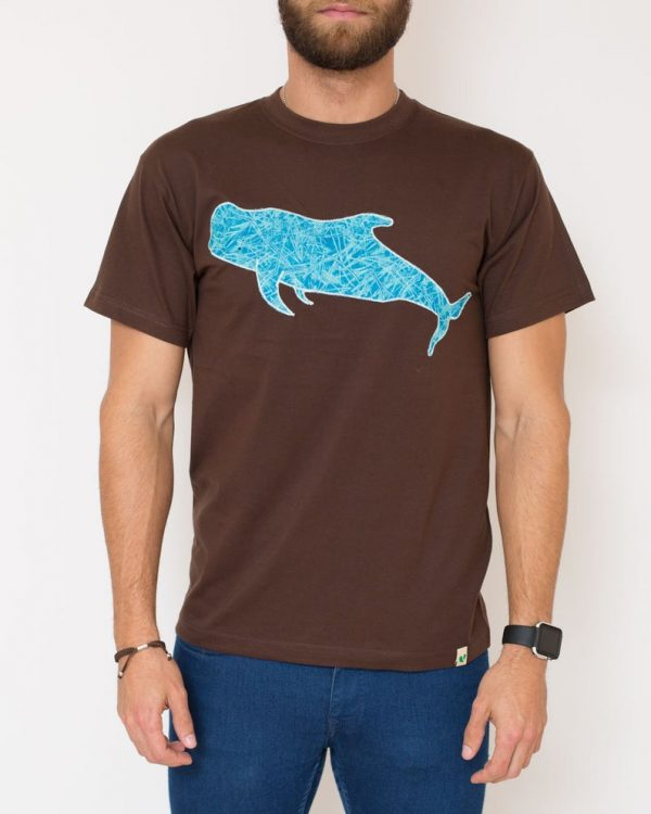 camiseta hombre ballena