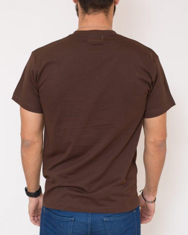 camiseta marron