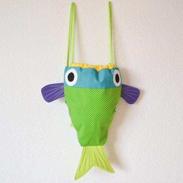 mochila pez