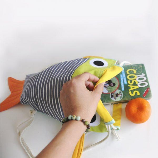 Bolso original para niños aficionados a los animales marinos