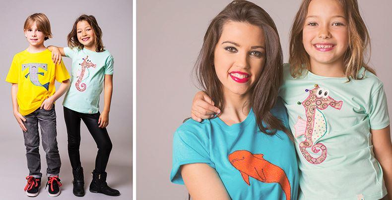 Camisetas infantiles personalizadas, Costurilla