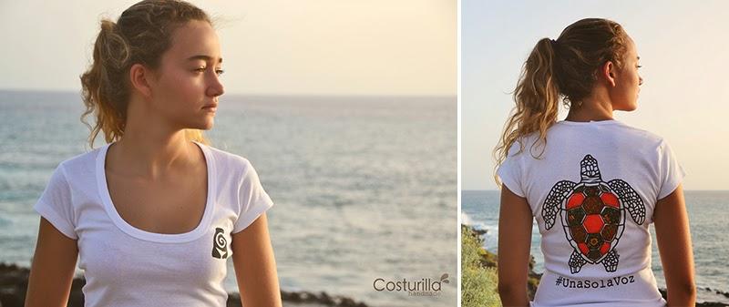 Camiseta Costurilla tortuga marina