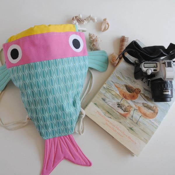 Mochila chicharro bolso pez