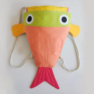 mochila de pez regalo para niños que les gustan los animales