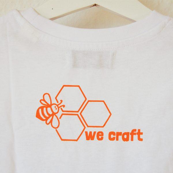 diseño abeja y panal camiseta para pintar
