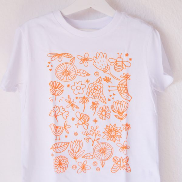 Regalo para niños creativos camiseta de pintar