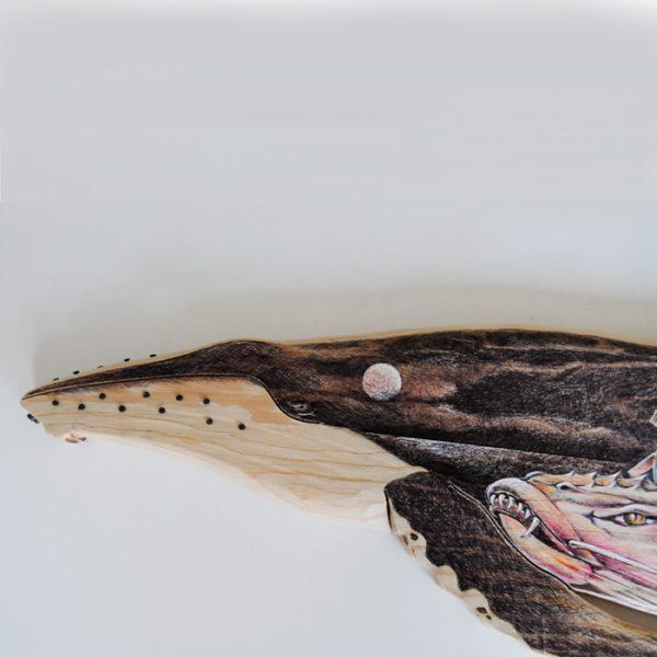 Balleba de madera ilustrada