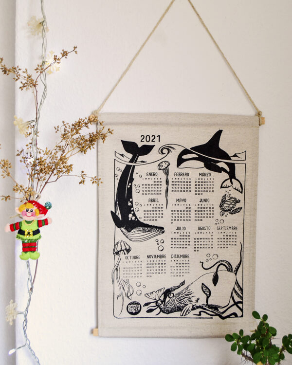 Calendario de pared Costurilla 2021