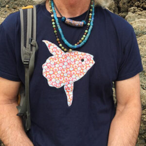 Camiseta artesanal Mola Mola
